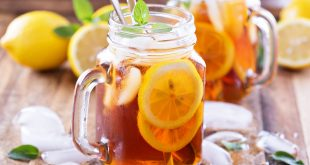 طريقة عمل الشاي البارد
