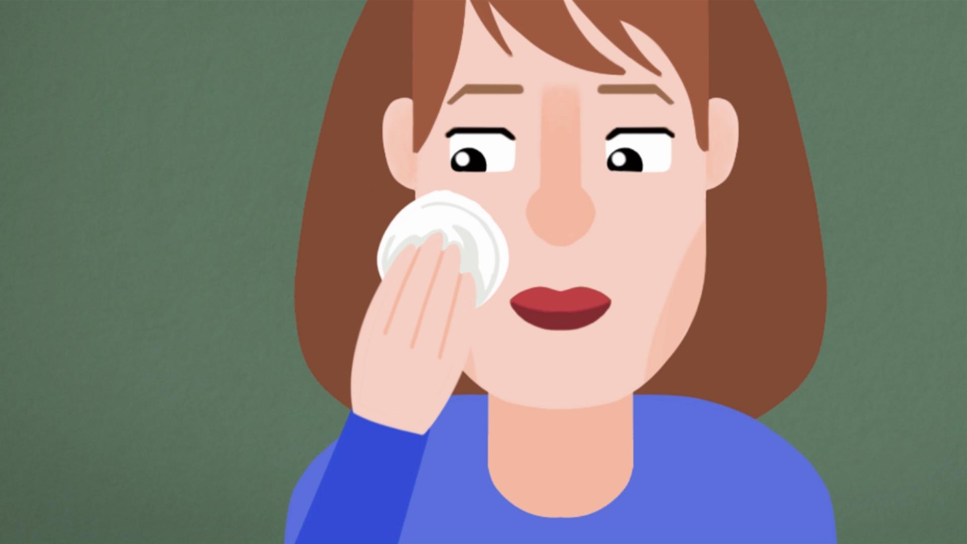 علاج الثآليل في الوجه