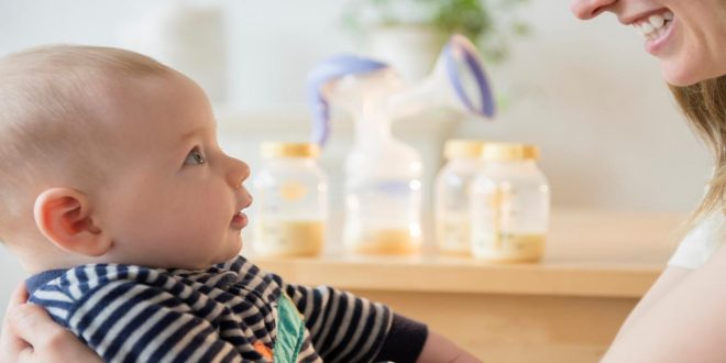 متى يتكون الحليب عند الحامل