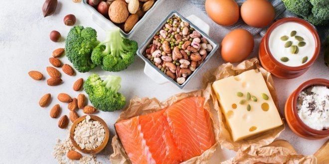 انواع البروتين