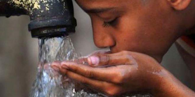 الماء الملوث يسبب الاسهال