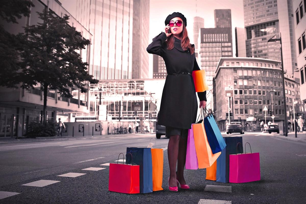 الادمان التسوق