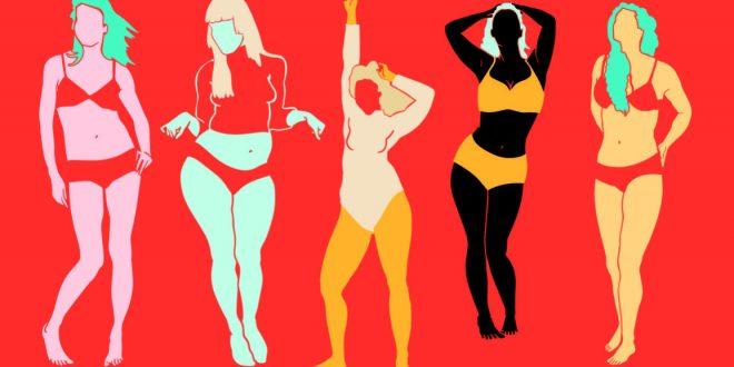 شكل جسم المراة والهرمونات