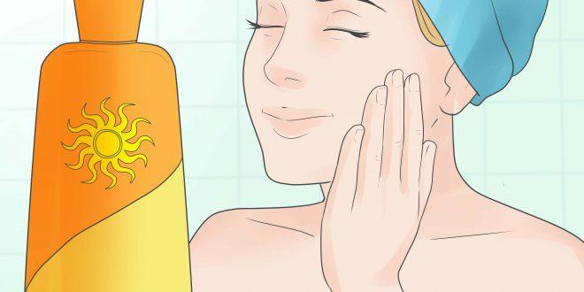 علاج حروق الشمس في الوجه