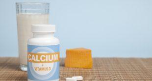 فيتامين د والكالسيوم